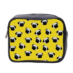 Pug dog pattern Mini Toiletries Bag 2-Side