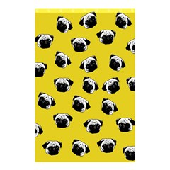 Pug dog pattern Shower Curtain 48  x 72  (Small)