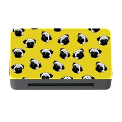 Pug dog pattern Memory Card Reader with CF