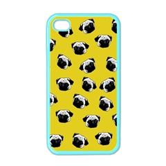 Pug dog pattern Apple iPhone 4 Case (Color)