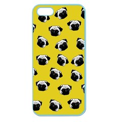 Pug dog pattern Apple Seamless iPhone 5 Case (Color)