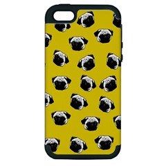 Pug dog pattern Apple iPhone 5 Hardshell Case (PC+Silicone)