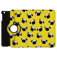 Pug dog pattern Apple iPad Mini Flip 360 Case