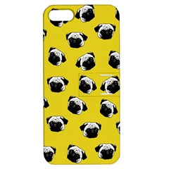 Pug dog pattern Apple iPhone 5 Hardshell Case with Stand
