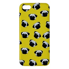 Pug dog pattern Apple iPhone 5 Premium Hardshell Case