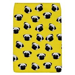 Pug dog pattern Flap Covers (L)