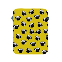 Pug dog pattern Apple iPad 2/3/4 Protective Soft Cases