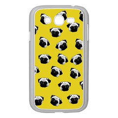 Pug dog pattern Samsung Galaxy Grand DUOS I9082 Case (White)