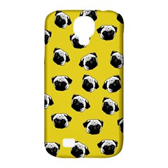 Pug dog pattern Samsung Galaxy S4 Classic Hardshell Case (PC+Silicone)