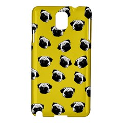 Pug dog pattern Samsung Galaxy Note 3 N9005 Hardshell Case