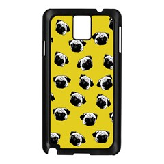 Pug dog pattern Samsung Galaxy Note 3 N9005 Case (Black)