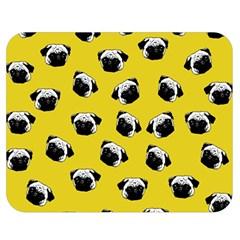 Pug dog pattern Double Sided Flano Blanket (Medium)
