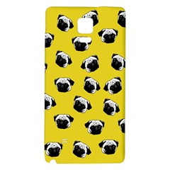 Pug dog pattern Galaxy Note 4 Back Case