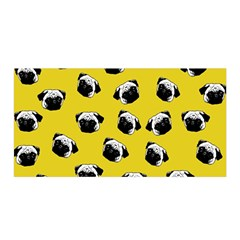 Pug dog pattern Satin Wrap