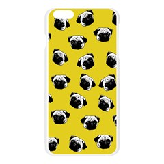 Pug dog pattern Apple Seamless iPhone 6 Plus/6S Plus Case (Transparent)
