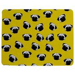Pug dog pattern Jigsaw Puzzle Photo Stand (Rectangular)