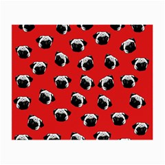 Pug dog pattern Small Glasses Cloth