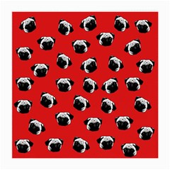 Pug dog pattern Medium Glasses Cloth