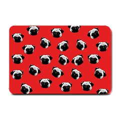 Pug dog pattern Small Doormat