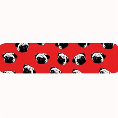Pug dog pattern Large Bar Mats