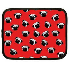 Pug dog pattern Netbook Case (Large)