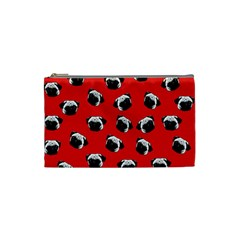 Pug dog pattern Cosmetic Bag (Small)