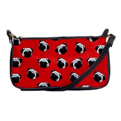 Pug dog pattern Shoulder Clutch Bags
