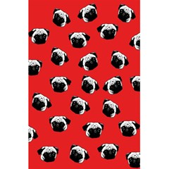 Pug dog pattern 5.5  x 8.5  Notebooks