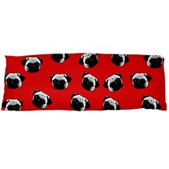 Pug dog pattern Body Pillow Case (Dakimakura)
