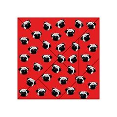 Pug dog pattern Acrylic Tangram Puzzle (4  x 4 )