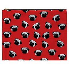 Pug dog pattern Cosmetic Bag (XXXL)