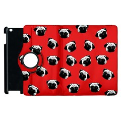Pug dog pattern Apple iPad 3/4 Flip 360 Case