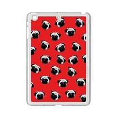 Pug dog pattern iPad Mini 2 Enamel Coated Cases