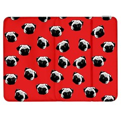 Pug dog pattern Samsung Galaxy Tab 7  P1000 Flip Case