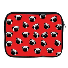 Pug dog pattern Apple iPad 2/3/4 Zipper Cases