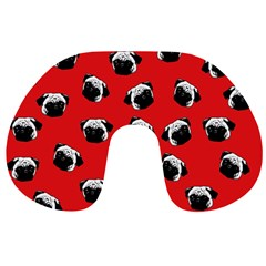 Pug dog pattern Travel Neck Pillows