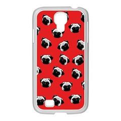 Pug dog pattern Samsung GALAXY S4 I9500/ I9505 Case (White)