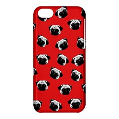 Pug dog pattern Apple iPhone 5C Hardshell Case