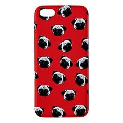 Pug dog pattern iPhone 5S/ SE Premium Hardshell Case