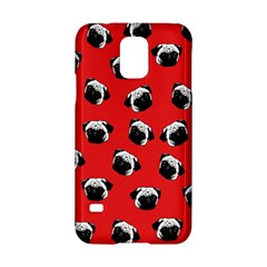 Pug dog pattern Samsung Galaxy S5 Hardshell Case