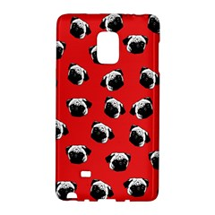Pug dog pattern Galaxy Note Edge