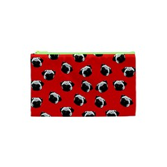 Pug dog pattern Cosmetic Bag (XS)