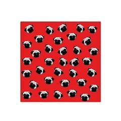 Pug dog pattern Satin Bandana Scarf