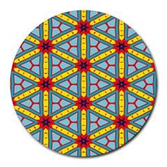 Stars pattern        Round Mousepad
