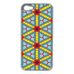 Stars pattern  Apple iPhone 5 Case (Silver)