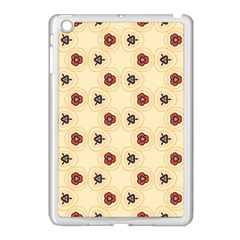 Orange flowers pattern   Apple iPad Mini Case (Black)