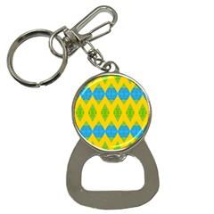 Rhombus pattern           Bottle Opener Key Chain