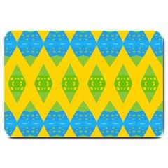 Rhombus pattern           Large Doormat