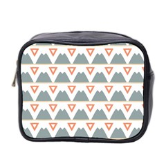 Triangles and other shapes           Mini Toiletries Bag (Two Sides)