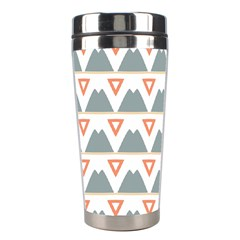 Triangles and other shapes           Stainless Steel Travel Tumbler